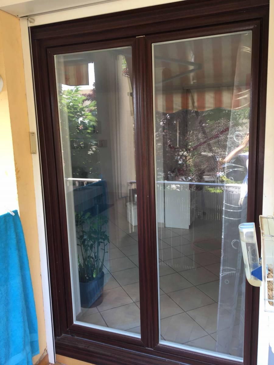Fenêtre En Pvc Bi Coloration Acajou Et Blanc Posée Par Votre