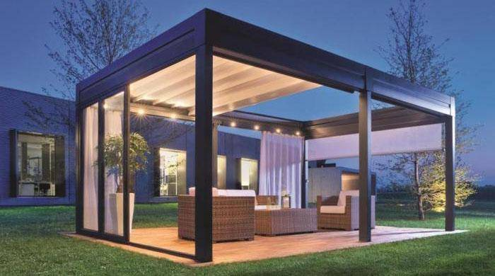 pergola bioclimatique motoris e marseille marseille grand sud habitat. Black Bedroom Furniture Sets. Home Design Ideas