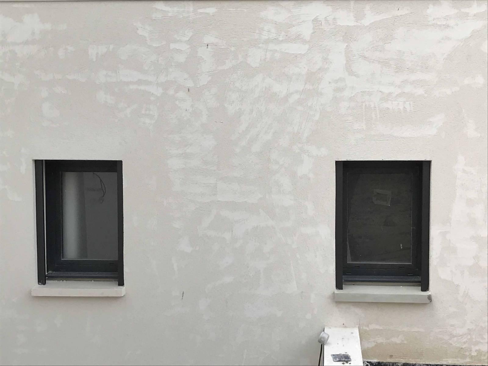 Fen tre en aluminium couleur gris anthracite 7016 sur for Fenetre gris anthracite